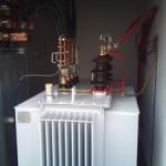 Wymieniony transformator 630kVA