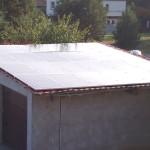 Dach garażu